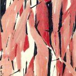 Red Cranes by Chen Wen Hsi