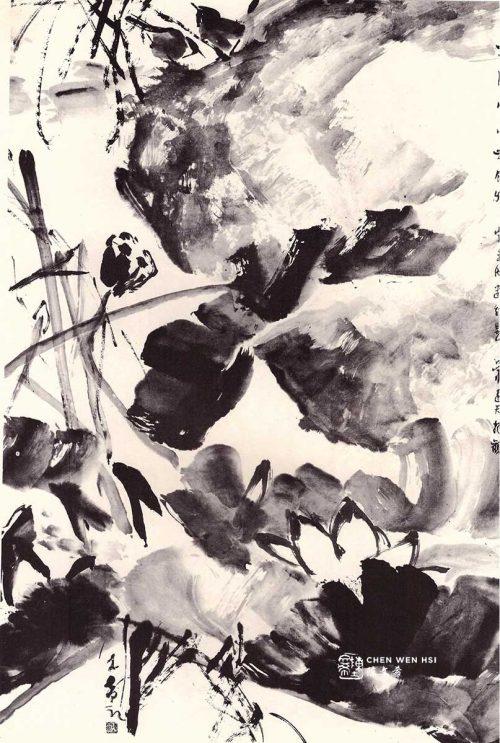 Birds with Lotus Chen Wen Hsi