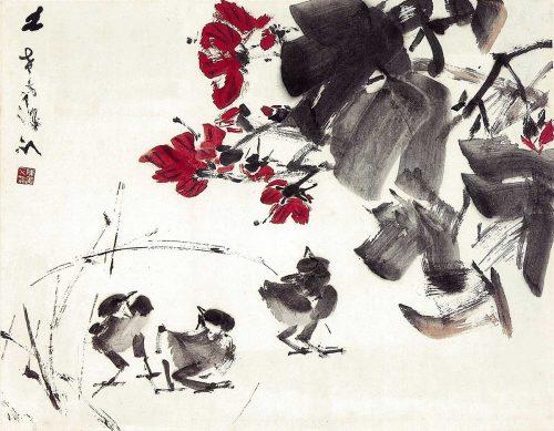 Chicks by Chen Wen Hsi