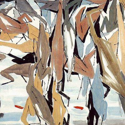 Cranes by Chen Wen Hsi