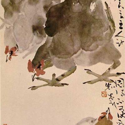 Fowls by Chen Wen Hsi