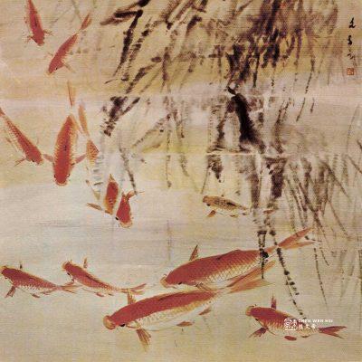Gold Carps by Chen Wen Hsi