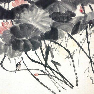 Lotus Flowers Chen Wen Hsi