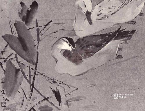 Spring is First by Ducks Chen Wen Hsi