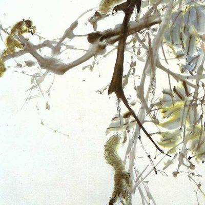 Spring Squirrels by Chen Wen Hsi