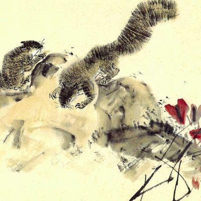 Squirrels by Chen Wen Hsi