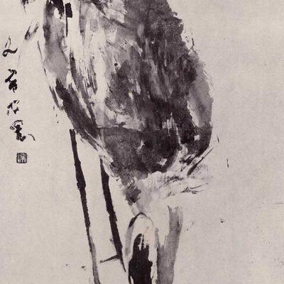 Standing Crane Chen Wen Hsi