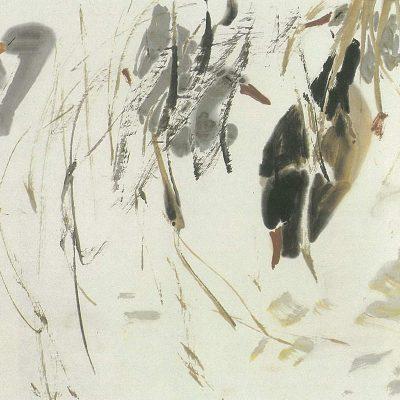 Bathing Ducks Chen Wen Hsi