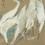 Chen Wen Hsi Egrets