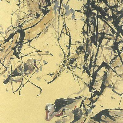 Chen Wen Hsi Ducks by River