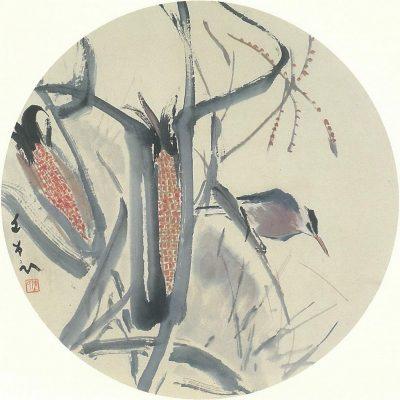 Kingfisher and Corn Chen Wen Hsi