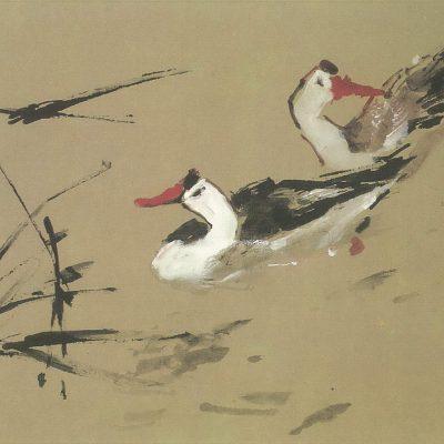 Chen Wen Hsi Bathing Ducks