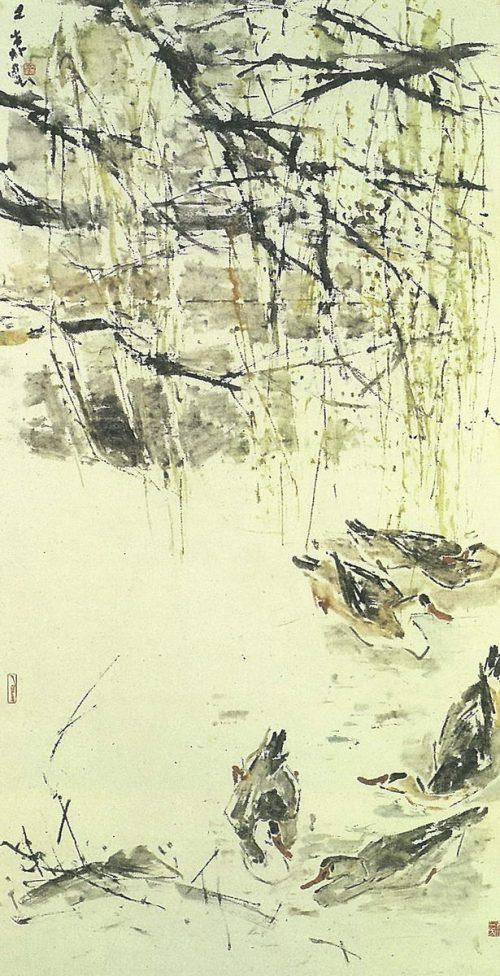 Chen Wen Hsi Ducks on Water