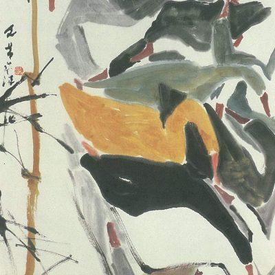 Chen Wen Hsi Ducks by the River