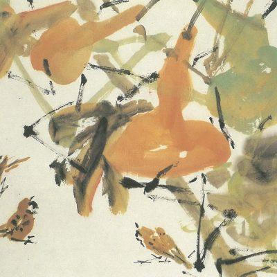 Chen Wen Hsi Gourds and Birds
