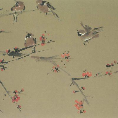 Chen Wen Hsi Bird on the Branch