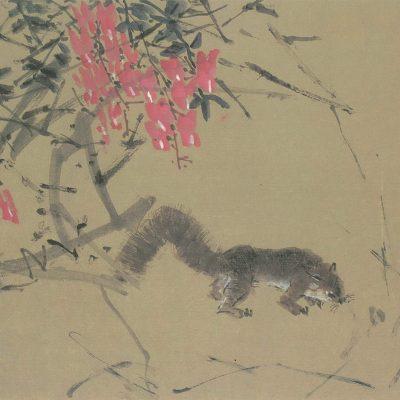 Chen Wen Hsi Flowers and Squirrel