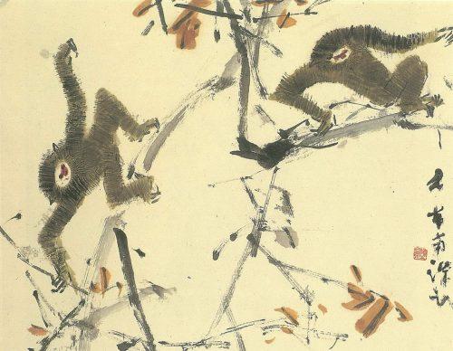 Chen Wen Hsi Twin Gibbons