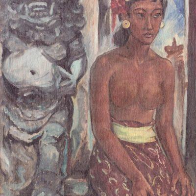 Chen Wen Hsi Portrait of a Balinese Lady