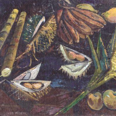 Chen Wen Hsi Still Life of Fruits