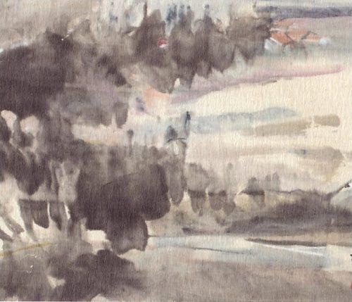 Chen Wen Hsi Abstract Landscape