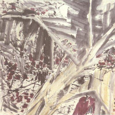 Chen Wen Hsi Sparrows and Rambutan Tree