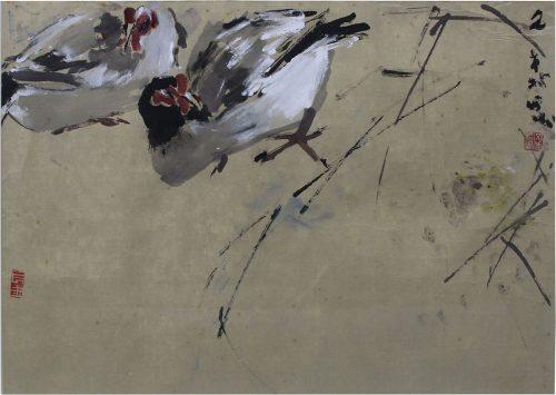 Chickens by Chen Wen Hsi