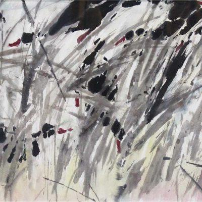 Ducks in Reeds by Chen Wen Hsi