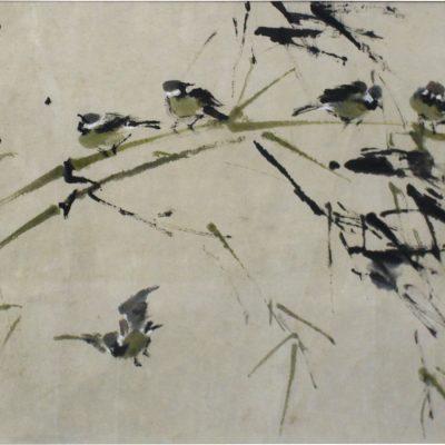 Sparrow by Chen Wen Hsi